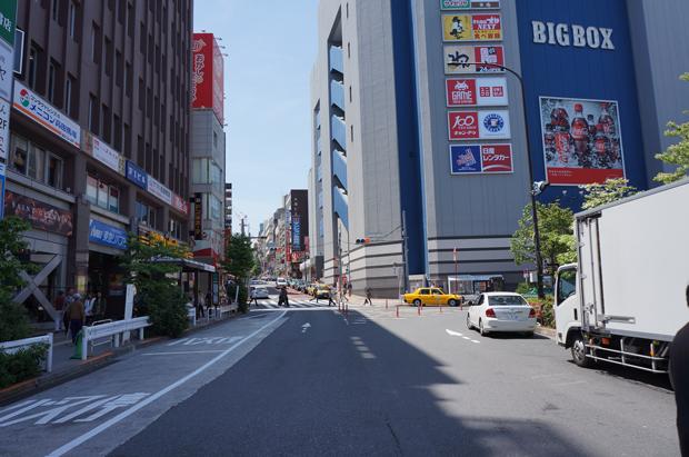 高田馬場駅からマッサージ店・整体院までの道順2