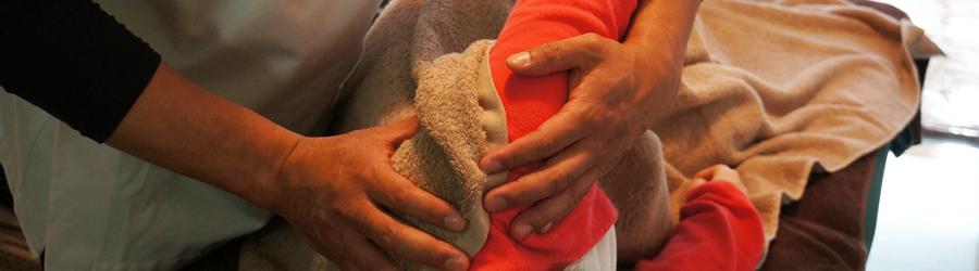 肩甲骨はがし・もみほぐし全身調整の他に鍼治療も行っております。